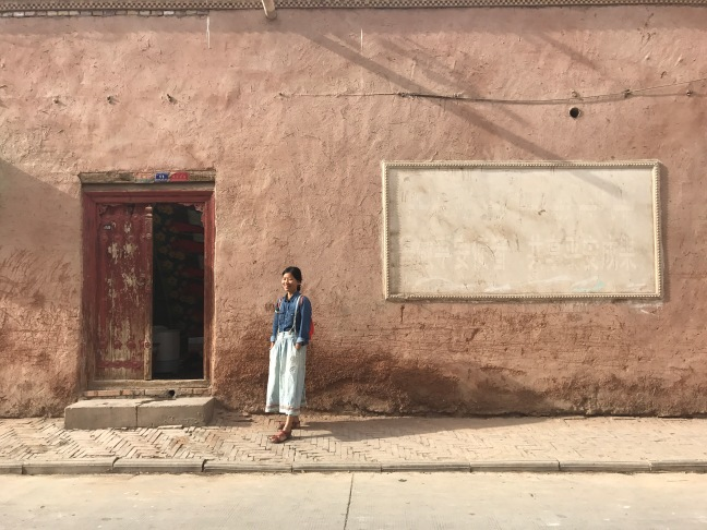kashgar, wall, old