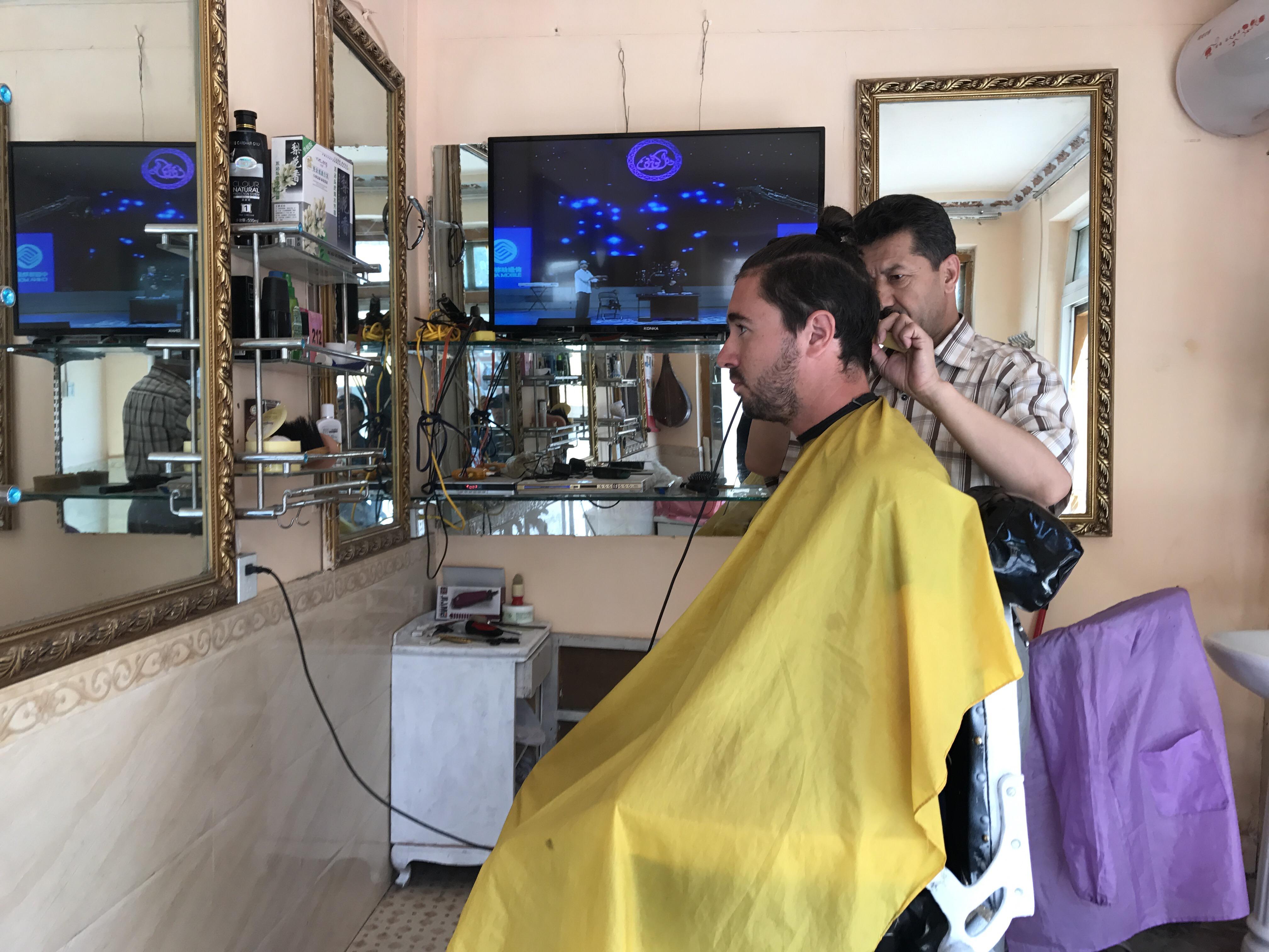 barber shop, barber