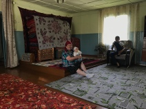 Akyl's grama and her grandson