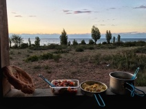 dinner issyk kul